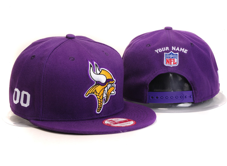 Minnesota Vikings NFL Customized Hat YS 103